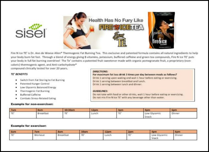 Fire N Ice Tea User Guide